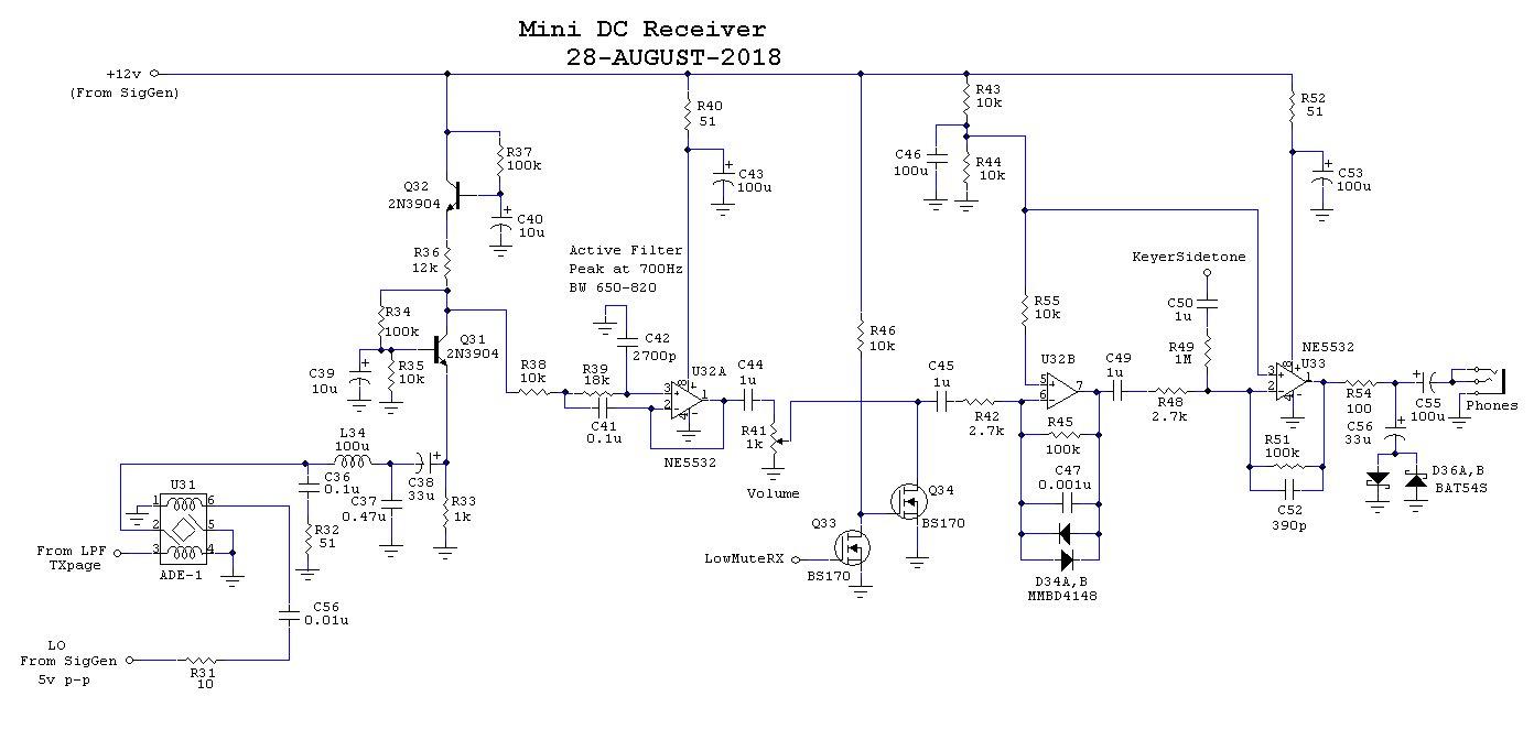 The Aazz Zzrx 40 Receiver Radio Circuit Diagram On Ham Am Transmitter Schematics Schematic